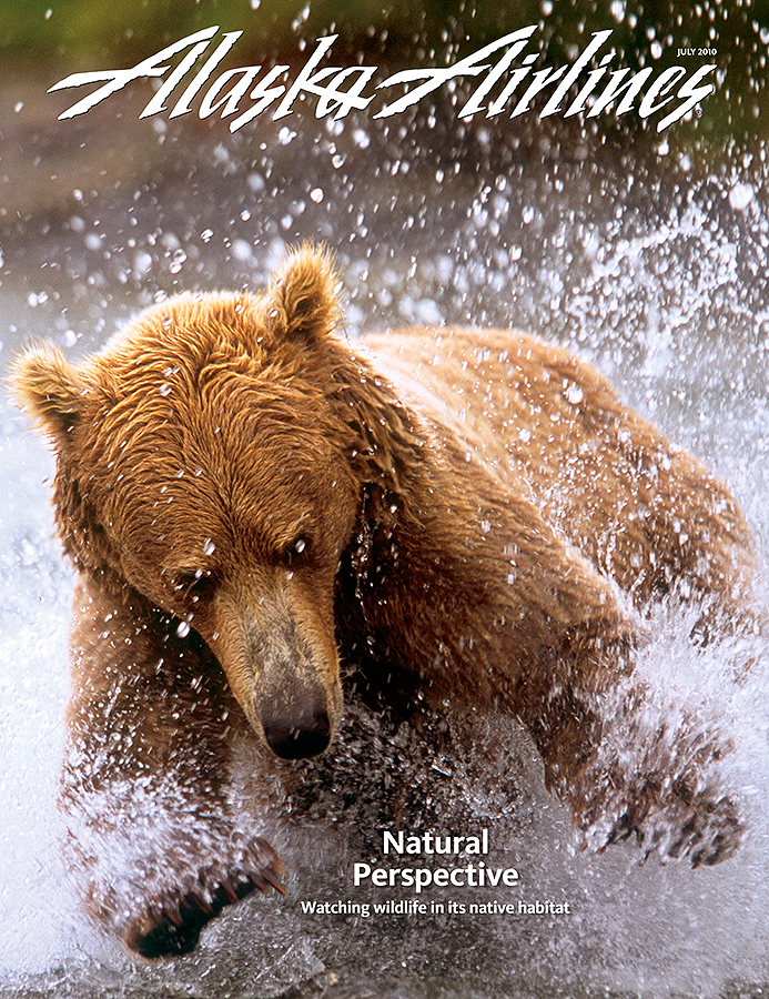 Alaska Airlines July 2010 Cover