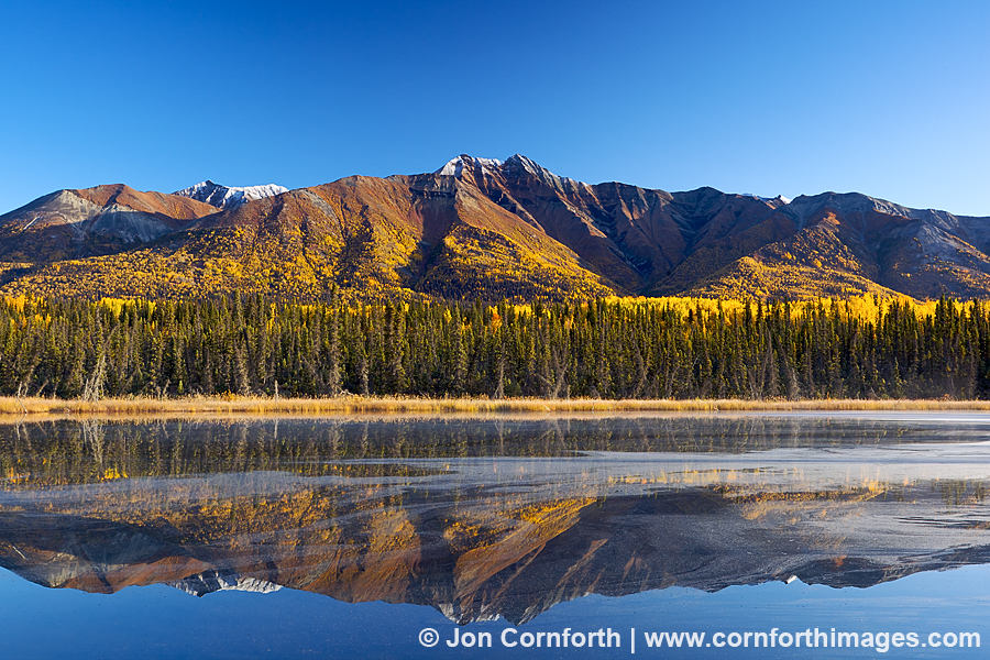 Fireweed Mt Reflection 3