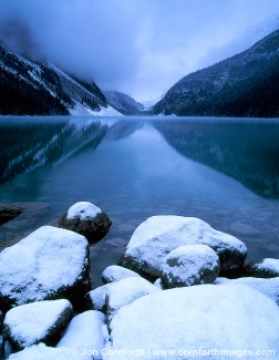 Lake Louise Cloudy