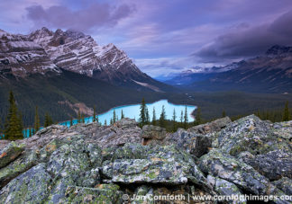 Peyto Lake Clouds 1