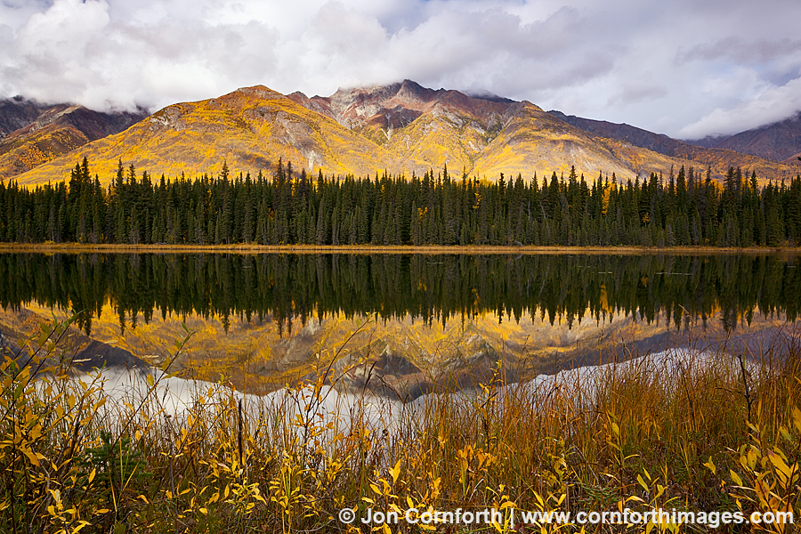 Crystalline Hills Fall Reflection 2